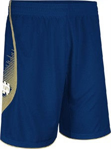 Notre Dame Fighting Irish Navy Point Guard Replica Basketball Shorts by Adidas