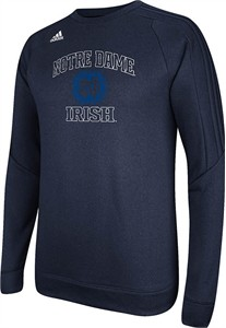 Notre Dame Fighting Irish Adidas Climawarm Synthetic Ultimate Tech Crewon Sale