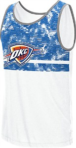 Oklahoma City Thunder Mens Energy Camo Tank by Adidas