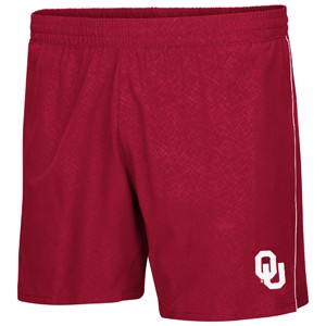 Oklahoma Sooners Crimson Colosseum Synthetic Ciao Training Shorts