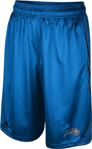Orlando Magic Light Blue Embroidered 12 inch Inseam Hoop Shorts by Adidas