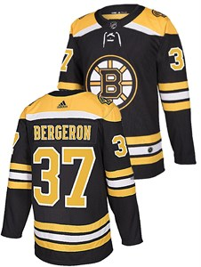 Patrice Bergeron Boston Bruins Adidas NHL Home Authentic Hockey Jersey  e4ddb621d