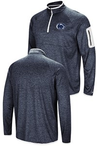 Penn State Nittany Lions Blue Amnesia Quarter/Zip Pullover Synthetic Windshirt