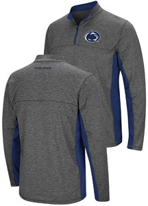 official photos b7e9f 1c148 Penn State Nittany Lions Charcoal Mens Milton Quarter Zip Synthetic  Windshirt   Penn State Nittany Lions