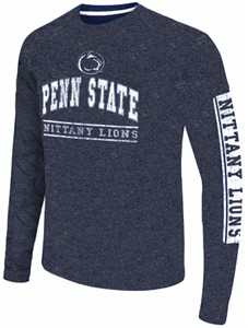 Penn State Nittany Lions Men's Blue Sky Box College Long Sleeve T Shirt