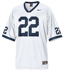 more photos cdd71 b3cd9 Penn State Nittany Lions White Football Jersey By Nike ...