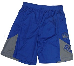 Philadelphia 76ers Blue My Favorite Game Synthetic Shorts