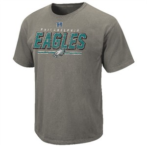 Philadelphia Eagles Vintage Roster II T Shirt by VF-Pigment Grey