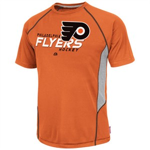 Philadelphia Flyers Cool Base Overtime Victory Tee By Majestic