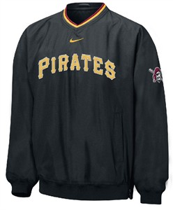 Pittsburgh Pirates MLB Unlined Staff Ace Pullover Windjacket By Nike Team Sports