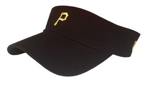 Pittsburg Pirates Black Dugout Visor by New Era