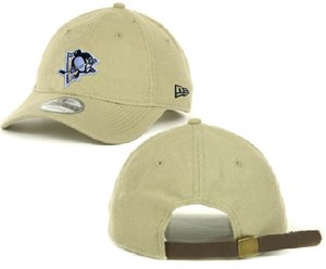 Pittsburgh Penguins Khaki New Era 9Twenty Shoreline Slouch Fit Adjustable Cap