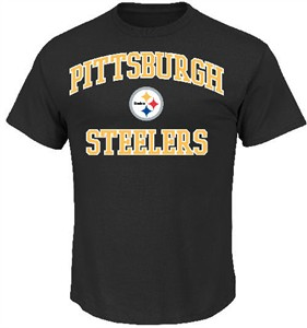 Pittsburgh Steelers Black Heart & Soul II T-Shirt by VF
