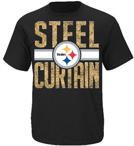 Pittsburgh Steelers Fantasy Leader II Black T Shirt by VF