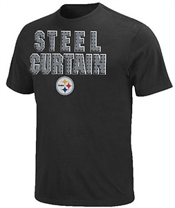 Pittsburgh Steelers Slim Fit Inside Line T Shirt by VF