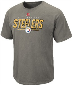 Pittsburgh Steelers Vintage Roster II T Shirt by VF-Pigment Grey