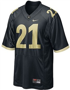 Purdue Boilermakers  #21 Adult Football Jersey by Nike