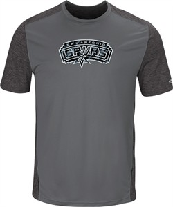 new style 9a7b0 ed817 San Antonio Spurs Mens Storm Grey Respect The Play Synthetic ...