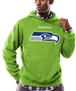 online retailer 2e92c fb71d Seattle Seahawks Mens Bright Green Pullover Critical Victory ...