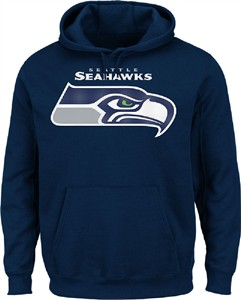 watch ced1a 8579c Seattle Seahawks Navy VF Pullover Critical Victory 2 Hoodie ...