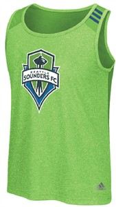 Seattle Sounders FC Mens Climalite Lightweight FAS Tank Top by Adidas