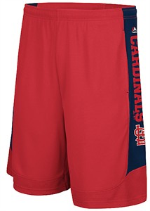 St. Louis Cardinals Defiant Performance Synthetic Baseball Shorts