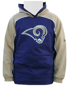 outlet store 93ee1 697fe Los Angeles Rams Embroidered Youth Bail Out Hooded ...