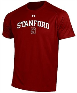 Stanford Cardinal Poly Dry HeatGear NuTech Performance Shirt by Under Armour