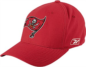 997d74c23 Tampa Bay Buccaneers NFL Stretch Flex Fit Sized Cap By Reebok ...