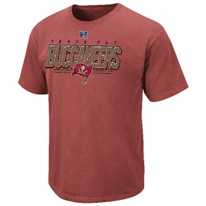 Tampa Bay Buccaneers Vintage Roster II T Shirt by VF-Pigment Red