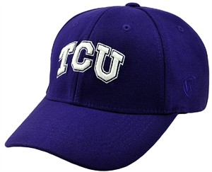 TCU Horned Frogs Purple Premium Collection One-Fit Memory Fit Cap