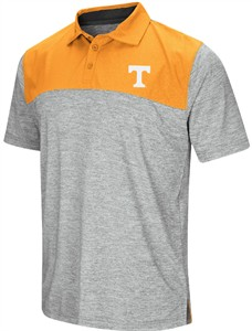 Tennessee Volunteers Mens Alaska Woven Synthetic Polo Shirt