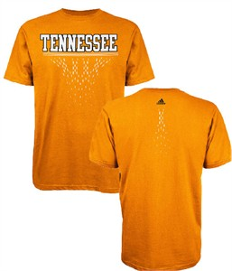 Tennessee Volunteers Orange Diamond Cut T Shirt by Adidas