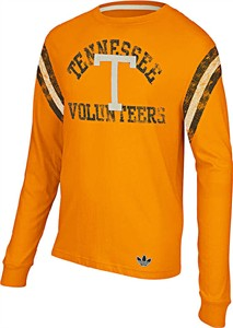 Tennessee Volunteers Vintage Applique Long Sleeve Shirt by Adidas