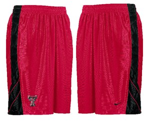 Texas Tech Red Raiders College Full Court Durasheen Shorts By Nike Team Sports