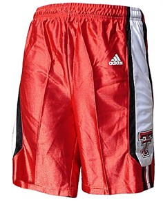 Texas Tech Red Raiders Youth NCAA Screen Printed Replica Basketball Shorts By Adidas