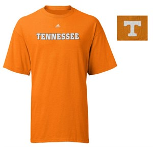 Tennessee Volunteers Orange 2 Sided Tee Shirt By Adidas