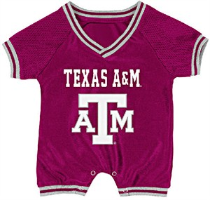 Texas A&M Aggies Infant Super Fan Onesie by Colosseum