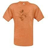 Texas Longhorns Tx. Orange Distressed Angry Bevo  T Shirt by 289c apparel on Sale