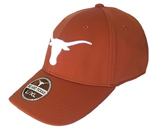 Texas Longhorns Burnt Orange Rotation Stretch Fit Sized Cap on Sale