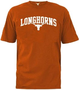 Texas Longhorns Men's Burnt Orange Brenden Short Sleeve T Shirt  on Sale