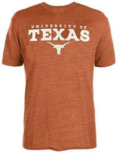 Texas Longhorns Men;s Shaun Short Sleeve T Shirt by 289c apparel