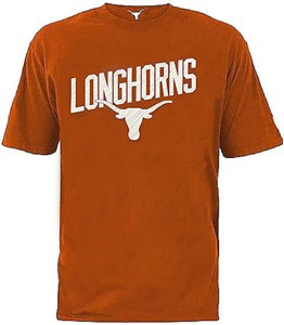 Texas Longhorns Men's UT Orange Gabe Polyester T Shirt on Sale