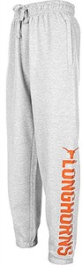 Texas Longhorns Mens Grey Dillon Closed Bottom Sweatpants