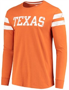 Texas Longhorns Mens Tx. Orange Starks Long Sleeve T Shirt by 289c on Sale
