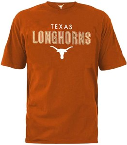 Texas Longhorns Mens UT Valiant Short Sleeve T Shirt on Sale