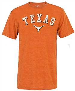 Texas Longhorns Mens Washed Tx. Orange Trevor T Shirt on Sale