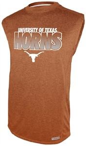 Texas Longhorns Orange Impact Sleeveless Shirt by Section 101 on Sale
