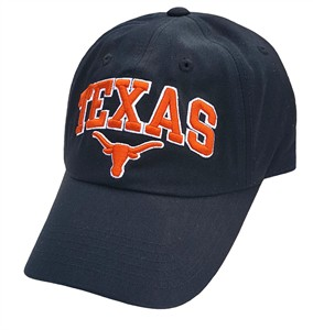 Texas Longhorns Secondary Team Relaxed-Fit Black Adjustable Cap