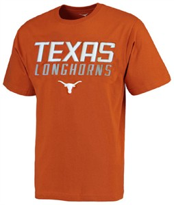 Texas Longhorns Synthetic Unstoppable Tx Orange Short Sleeve Shirt by 289c Apparel on Sale
